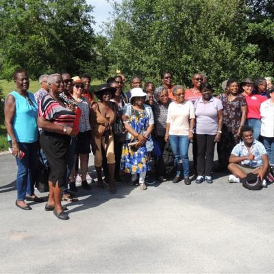 Rencontre avec un groupe de country de l'île de la  Barbade - 23 06 19