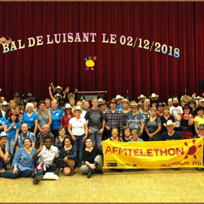 Bal Téléthon de Luisant le 02/12/2018
