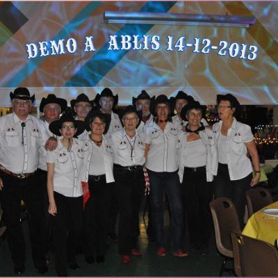 Démo Ablis 14-12-2013