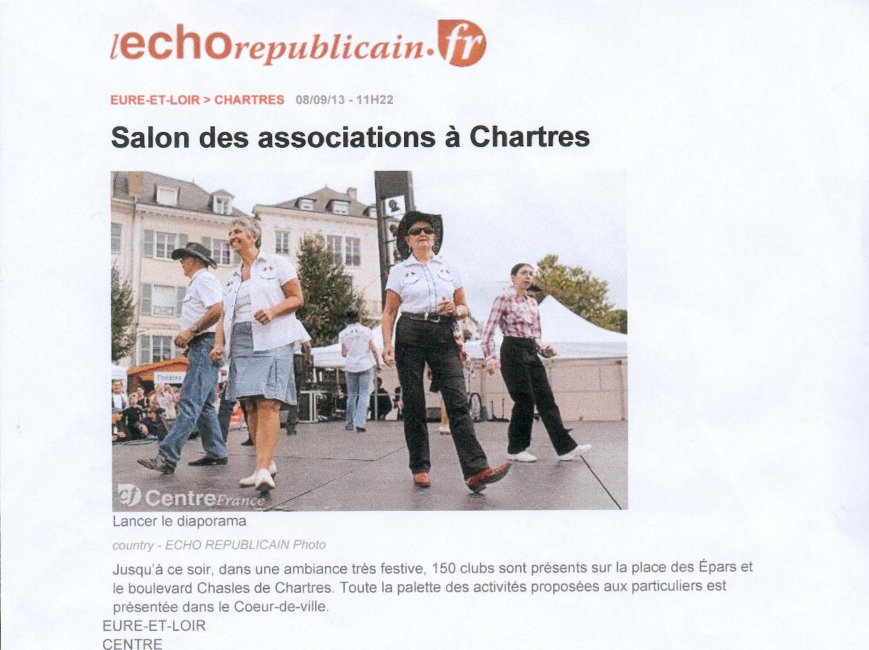 Forum des associations à Chartres. 7 & 8 sept 2013